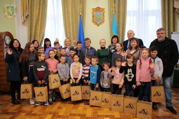 Для дітей Яворівського району організували активне дозвілля