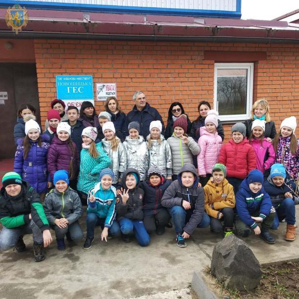 Учнівській молоді Львівщини організували екскурсію малими ГЕС