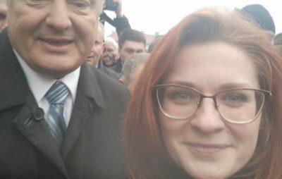 Селфі з Порошенком. Фото Марія Кульчицька