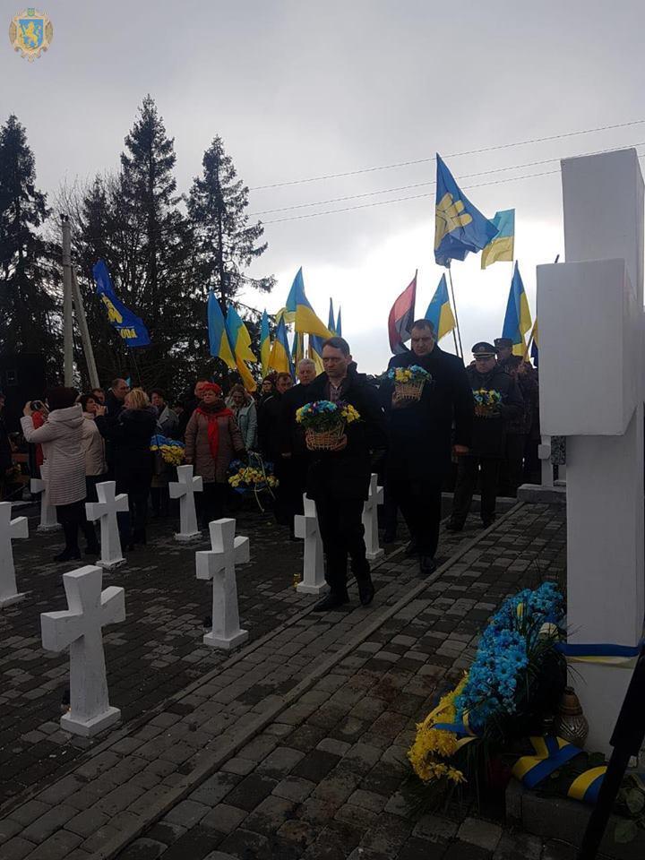 На Верецькому перевалі вшанували пам'ять січовиків Карпатської України