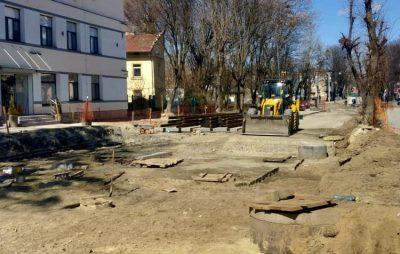 Як у Львові ремонтують Замарстинівську. Фото Варта-1
