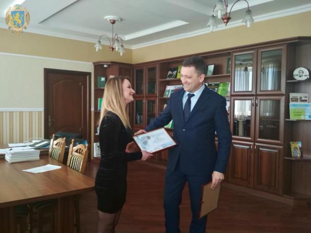 До Дня довкілля на Львівщині відзначили кращих представників галузі