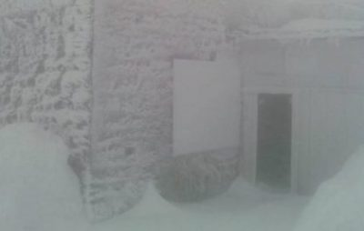Карпати засипало снігом. Фото: Дзеркало Закарпаття.