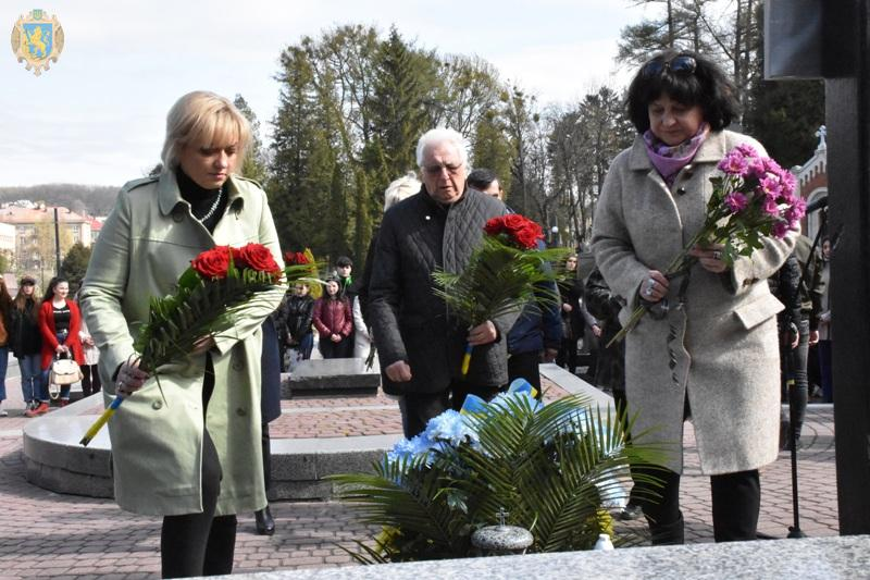 На Личакові вшанували пам'ять Бориса Возницького. Фото: прес-служба ЛОДА.