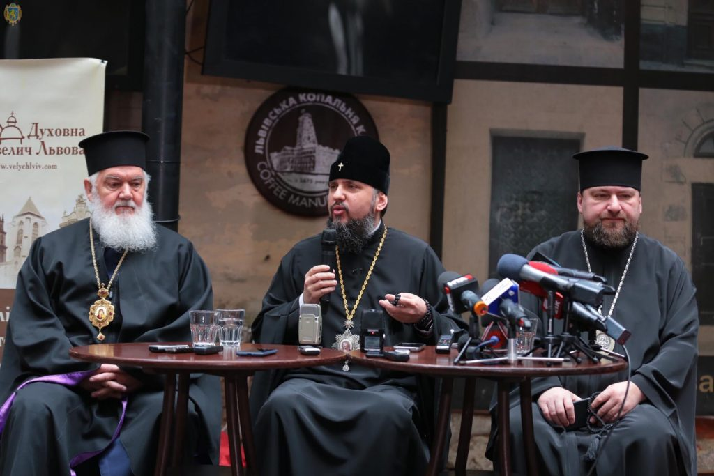 Без свободи, яку ми можемо втратити, не буде добробуту, - Блаженніший митрополит Київський і всієї України Епіфаній