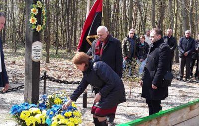 На Львівщині біля криївки в урочищі «Морозівська» вшанували пам'ять вояків УПА