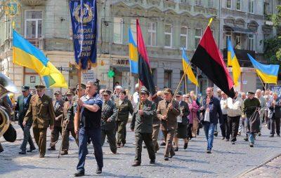 З нагоди Свята Героїв вулицями Львова пройшла урочиста хода