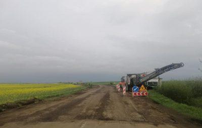 На Львівщині розпочався ремонт дороги у напрямку Городка. Фото: Ярослав Дубневич.