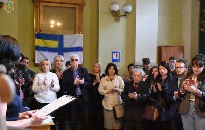 Повернення до Дому: у Львові презентували виставку на підтримку українських полонених моряків