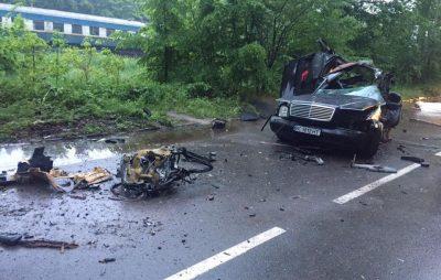 На Львівщині, внаслідок зіткнення авто з деревом, загинуло двоє осіб