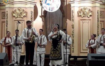 На Львівщині відбувся ХIV Міжнародний фольклорний фестиваль «У колі друзів»