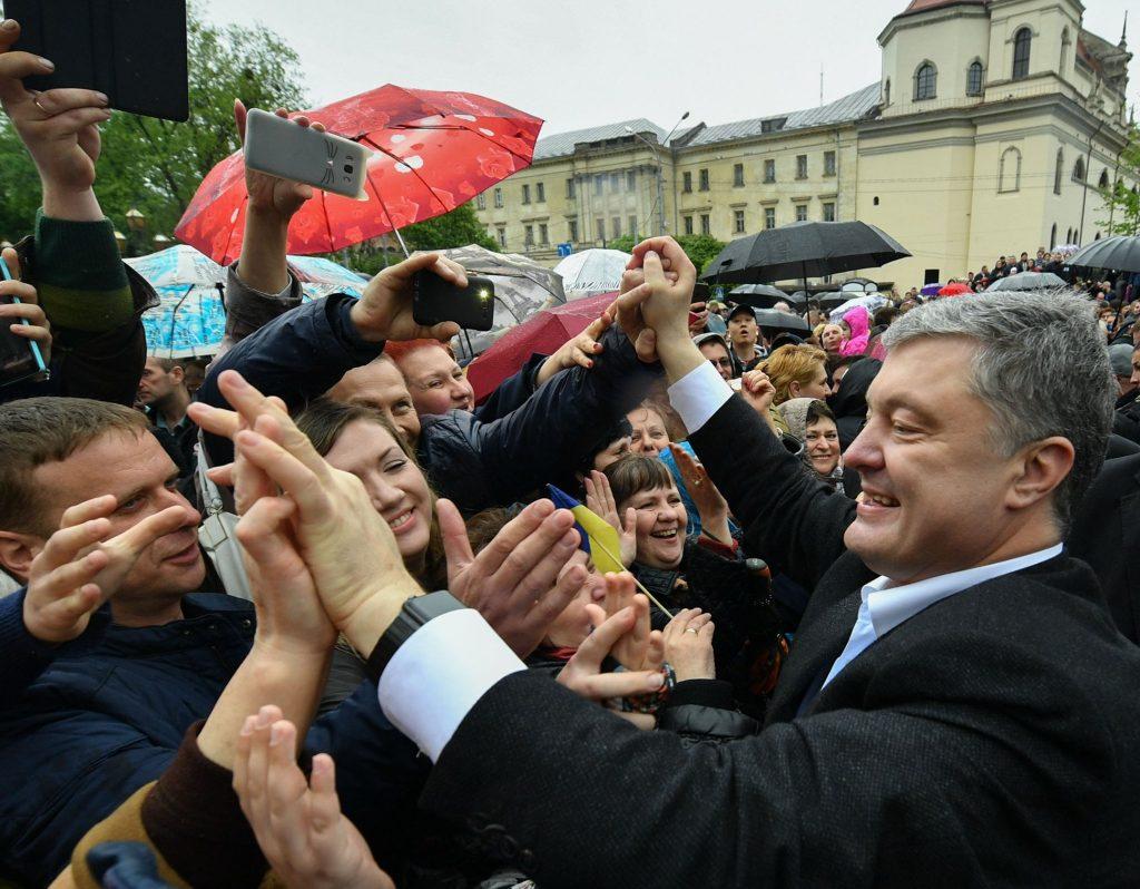 У Львові – частинка мого серця: Порошенко привітав львів'ян з Днем міста