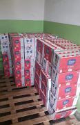 На митниці Львівщини вилучили півтори тонни продуктів