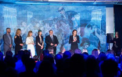 Марина Порошенко відвідала прем'єру документального фільму «1944» про депортацію кримських татар