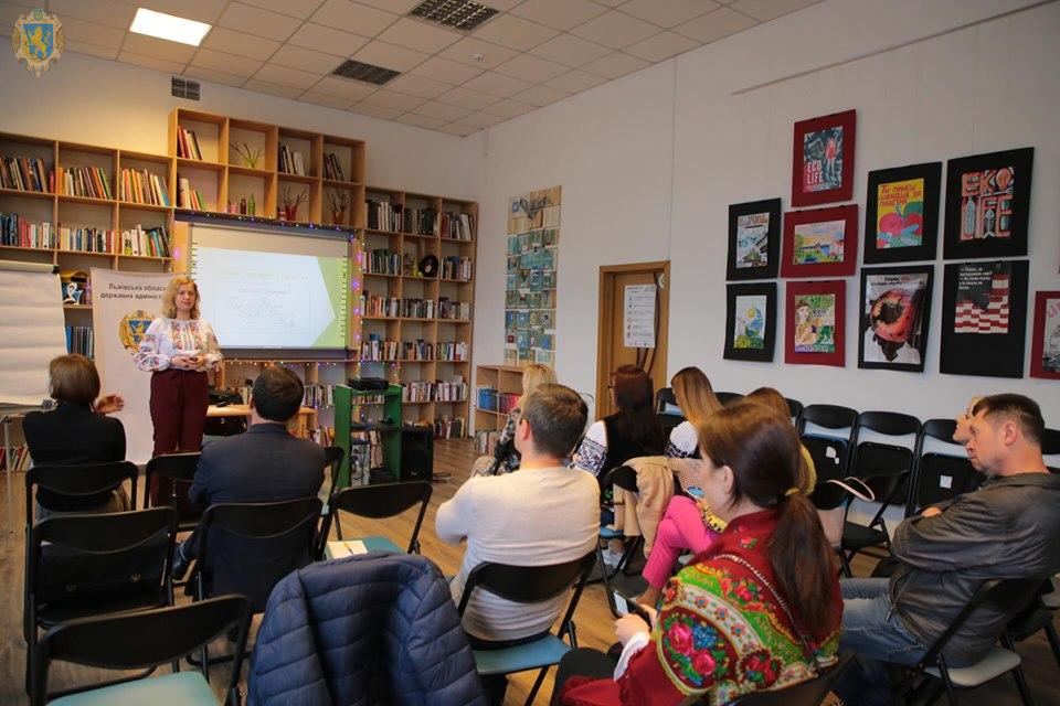 У Львові організували тренінг «Дизайн мислення в проектах»