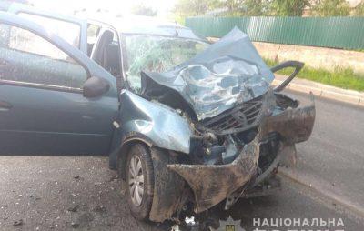 На Сокальщині внаслідок ДТП загинув водій. Фото: 4studio.