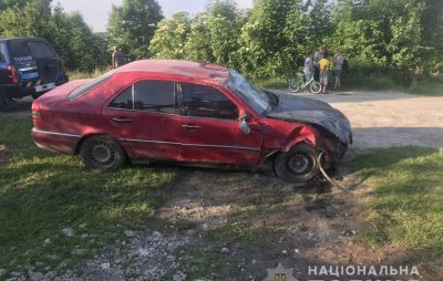 Дорожньо-транспортна пригода трапилася 5 червня о 18.25 у селі Бердихів