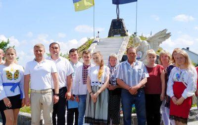 На Яворівщині вшанували пам'ять Героя України Віталія Коцюби. Фото: Яворівська РДА.