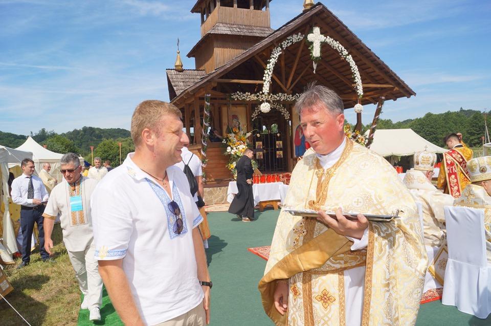Порошенко відвідав Всеукраїнську прощу на Яворівщині