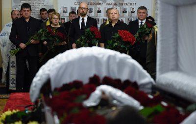 У Києві прощаються з депутатом Тимчуком. Фото: Народний фронт.