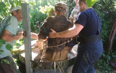 На Яворівщині чоловік впав у колодязь