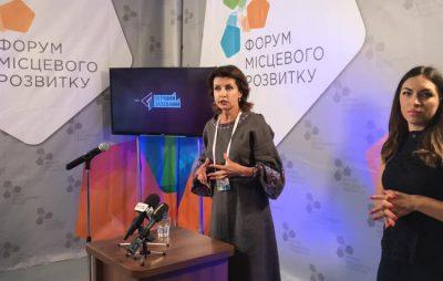 """У партії """"Європейська Солідарність"""" 40% - це жінки,- Марина Порошенко. Фото: 4studio."""
