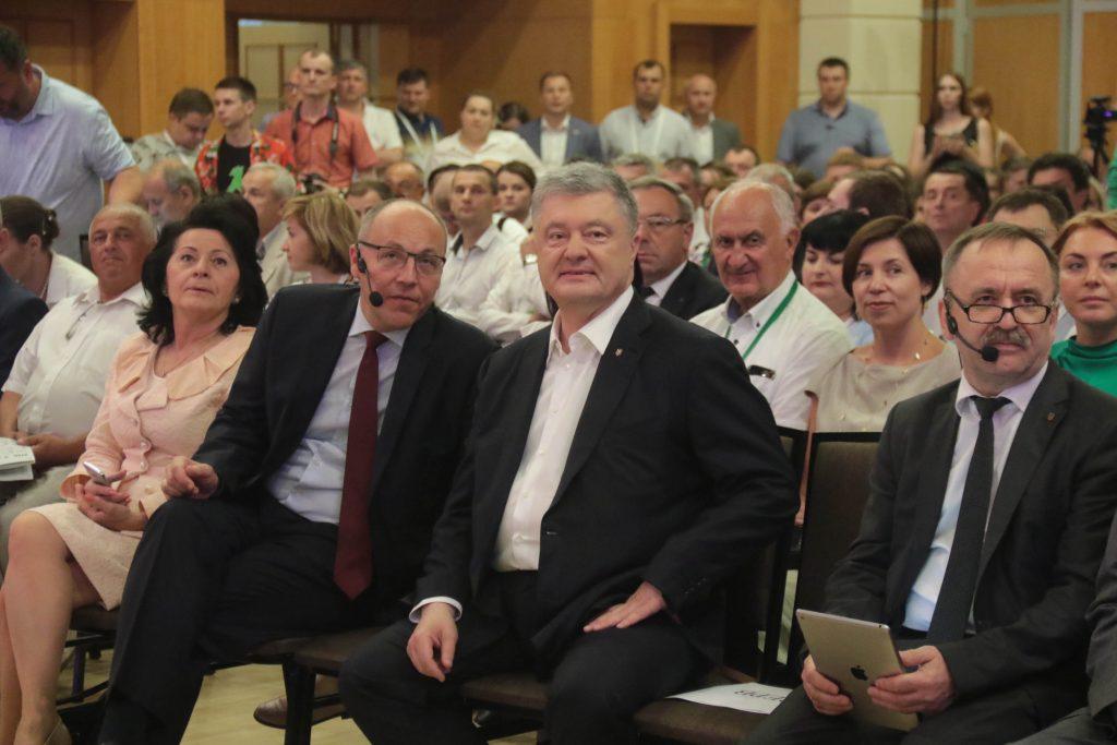 Петро Порошенко у Трускавці. Фото 4studio