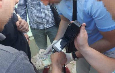 На Львівщині затримала на вимаганні очільника громадської організації