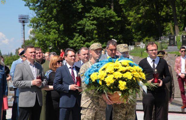 На Львівщині відзначили 156-ту річницю від дня народження Євгена Петрушевича