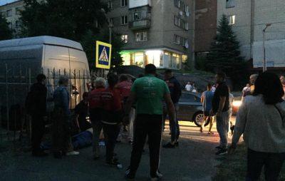 У Львові посеред вулиці помер чоловік. Фото ВАРТА1