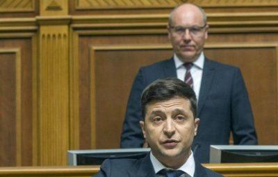 Парубій просить Зеленського привести свій лист до ВРУ у відповідність до вимог закону. Фото: відкриті джерела.