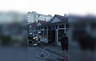 У Львові згорів магазин