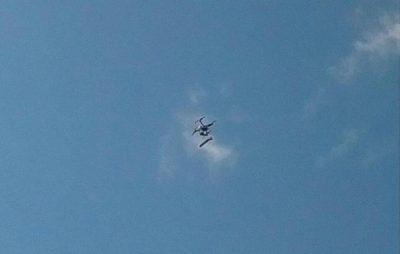Фалоімітатор упав з неба під час агітконцерту в Одесі. Фото: OBLVESTI.