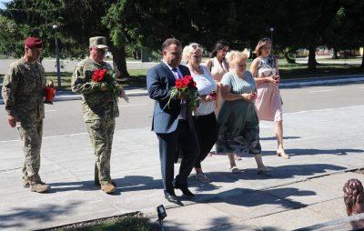 На Львівщині Полторак відвідав 80 окрему десантно-штурмову бригаду