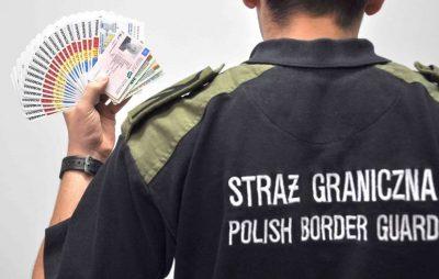 Українець приїхав до Польщі з 25 фальшивими паспортами. Фото: Прямий.