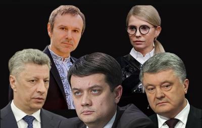 Що пишуть найрейтинґовіші партії про українську мову у своїх виборчих програмах
