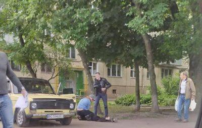 У Львові затримали чоловіка з наркотиками. Фото: Варта1.