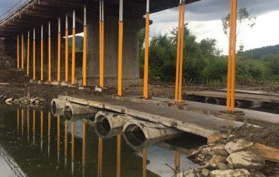 На Львівщині ремонтують міст до Ужгорода