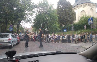 Хресна хода у Львові. Фото Андрій Жбадинський