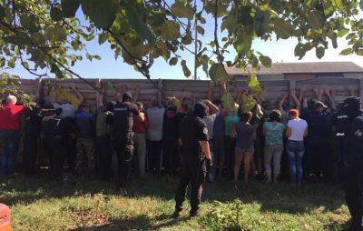 На Харківщині побили журналістів Медведчука. Фото: Ігор Зінкевич.