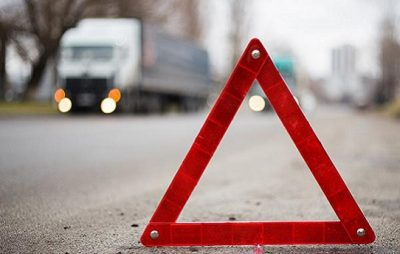 На Львівщині вантажівка переїхала пішохода. Фото: відкриті джерела.