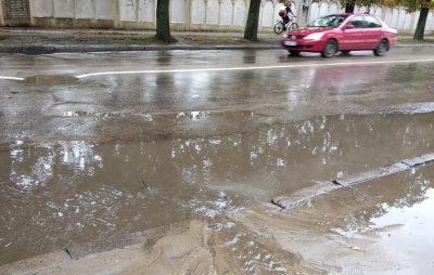У Львові затопило Левандівку. Фото: Ігор Зінкевич.