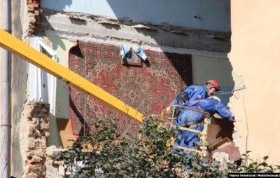 У Дрогобичі збирають кошти для допомоги потерпілим внаслідок обвалу будинку