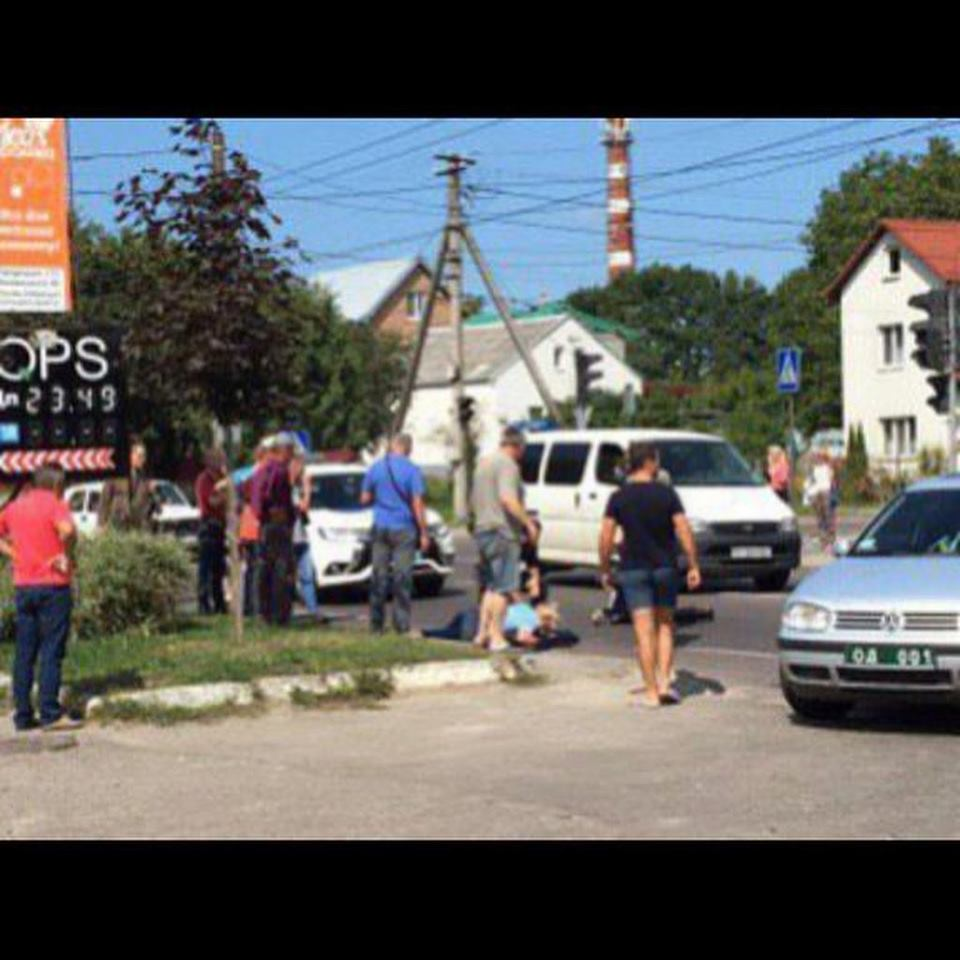 З'явились подробиці жахливої ДТП за участі автомобіля поліції у Львові. Фото: Вікторія Балицька.