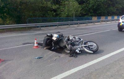 На Бродівщині у ДТП постраждало двоє неповнолітніх мотоциклістів. Фото: відкриті джерела.