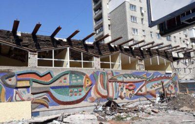 Скандальний забудовник запропонував реконструювати мозаїку «Океану» власним коштом