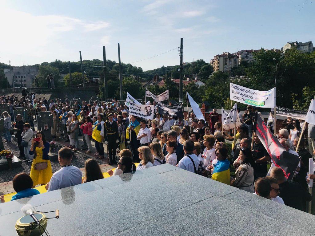 """Рабів не цікавить свобода, вони мріють лише про доброго господаря, - як вулицями Львова пройшли """"Нескорені"""". Фото - Четверта студія"""