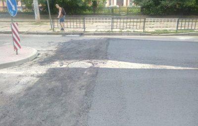 Як у Львові ремонтують вулицю Сахарова. Фото: Зручне місто.
