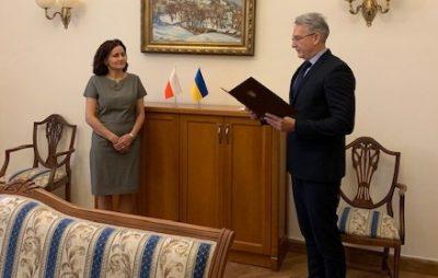 Новим генеральним консулом Польщі у Львові стала Еліза Дзвонкєвіч