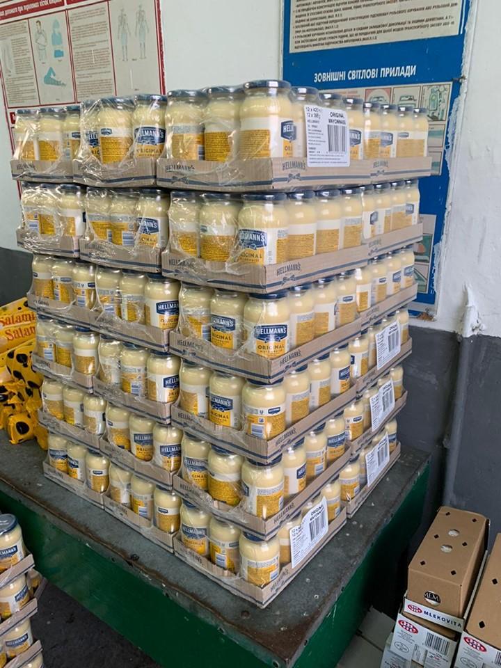 На кордоні із Польщею вилучили 2 тонни контрабандних продуктів харчування. Фото: ДФС.